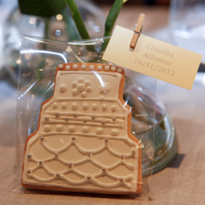 Galletas decoradas Barcelona - Galletas Boda